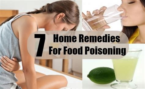 7 food poisoning home remedies treatments cure