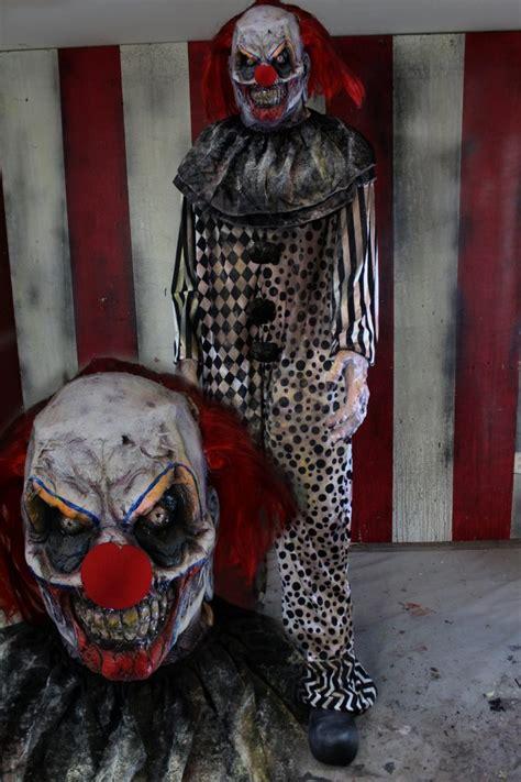 ft scary clown halloween prop evil clown