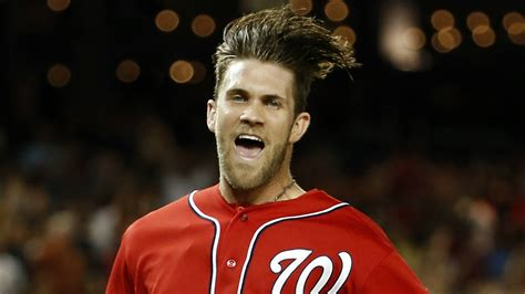 bryce harper hair 2015 the best hair in sports
