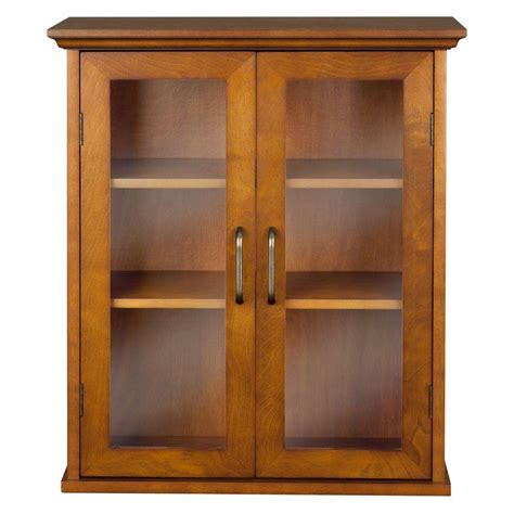 Oak Bathroom Cabinets Storage Aida 20 1 2 In W X 24 In H X 8 1 2 In D Bathroom Storage Wall Cabinet In Oak Color Hdt540