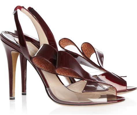 high heels designer nicholas kirkwood joins the clear pvc designer high heels
