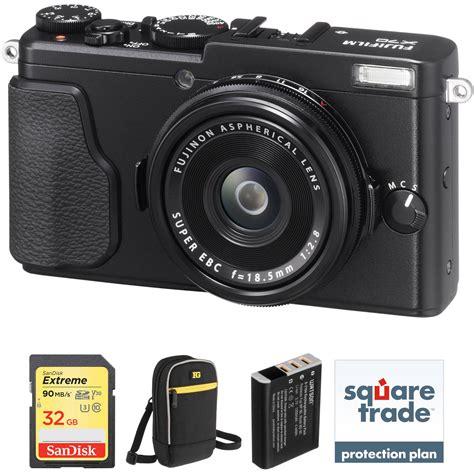 Fujifilm X70 Digital Black Fujifilm X70 Digital Deluxe Kit Black B H Photo