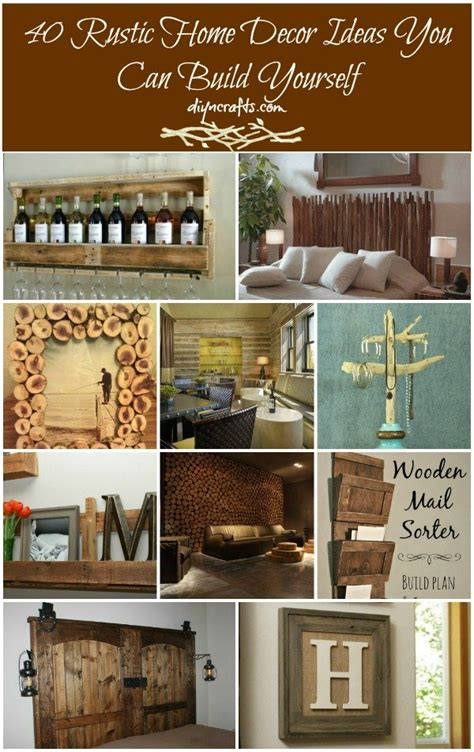 diy rustic home decor 40 diy rustic home decor ideas