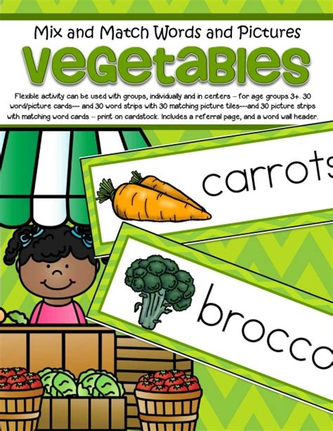p word vegetables vegetables word wall vocabulary and pictures