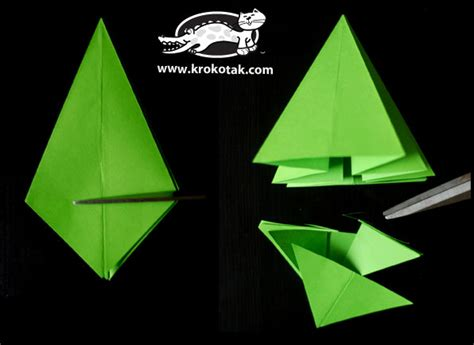 folding a fir tree krokotak fold a fir tree