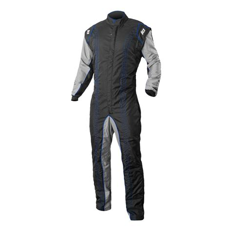 cing gear k1 race gear gk2 kart suit blue