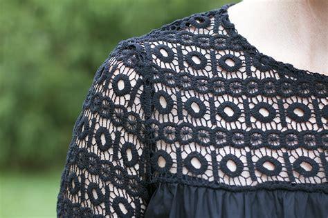 inspiration crochet blouse black from crochetemoda i adore this black boho crochet blouse take time for style