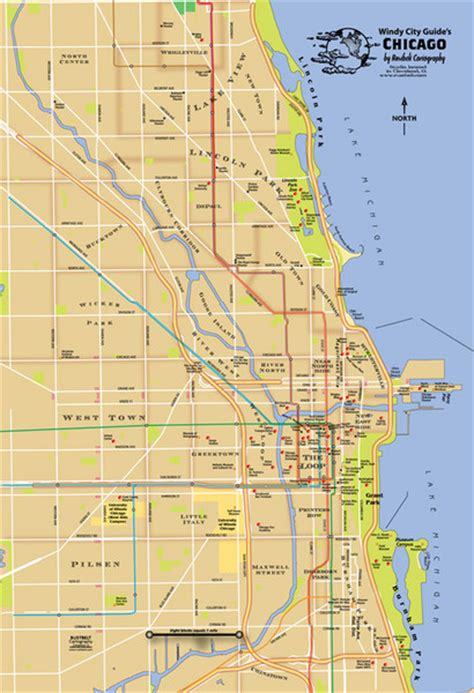 chicago map image chicago neighborhood map chicago mappery