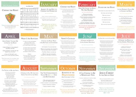 themes kindergarten month 4x6 2012 primary monthly themes with songs simply fresh