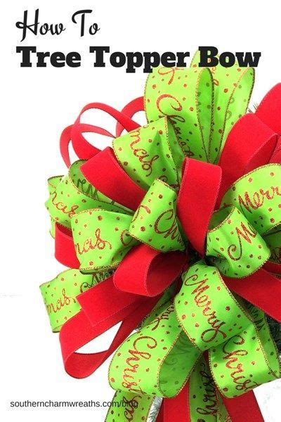 how to make bows for top of christmas tree 585 best tree decorating ideas images on trees decor and