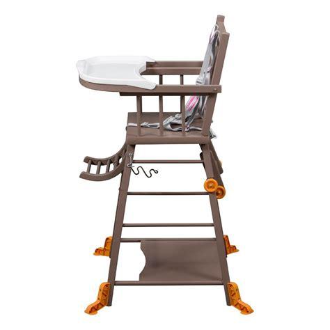 combelle chaise haute chaise haute transformable laqu 233 taupe combelle design b 233 b 233