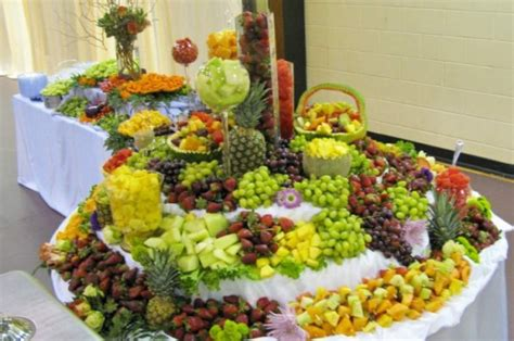 fruit table for wedding reception photo gallery wedding reception food table