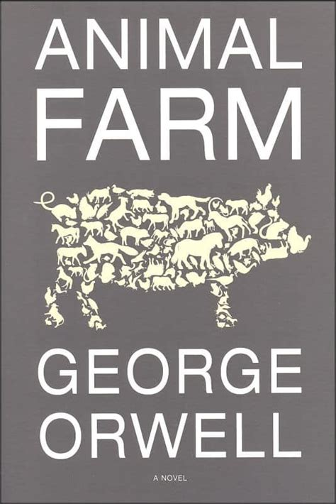 george orwell biography short summary animal farm plot summary character analysis