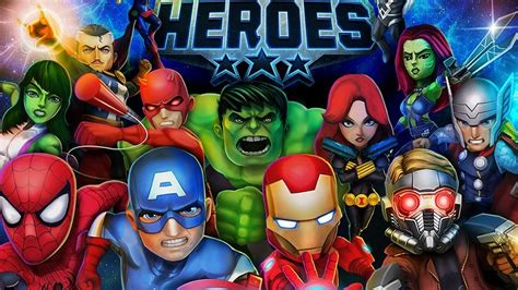 marvel heroes apk marvel mighty heroes co op brawler announced for android and ios