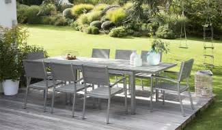 table salon de jardin inox jsscene des id 233 es