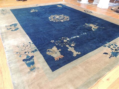 blue area rug 9x12 antique blue deco area rug 9x12 ebay