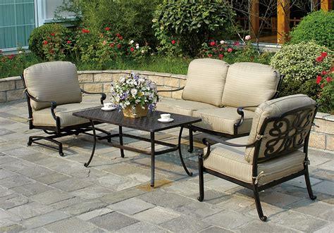 seated patio furniture seating patio furniture