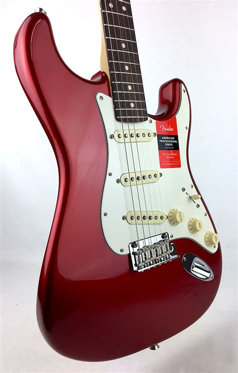 fender american professional stratocaster candy apple