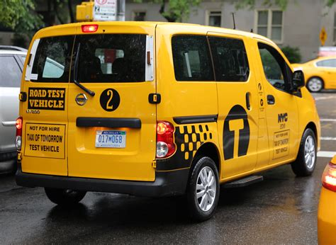 nissan nv200 taxi קובץ nissan nv200 quot taxi of tomorrow quot test vehicle rear