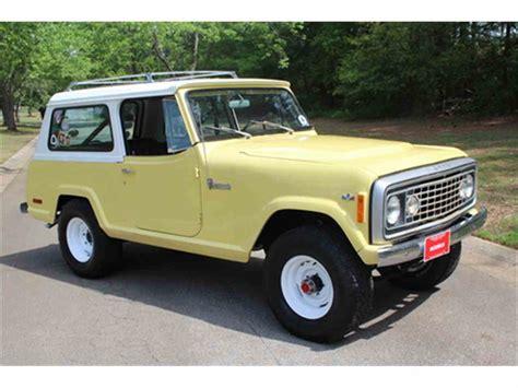 1973 jeep commando for sale 1973 jeep commando for sale classiccars com cc 974090