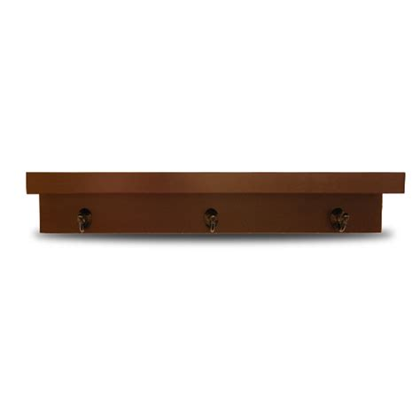 lowes wood shelving shop allen roth 30 in wood wall mounted shelving at