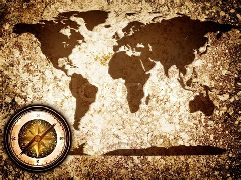 Find Home Plans by Abstract Vintage Grunge Travel Background With World Map