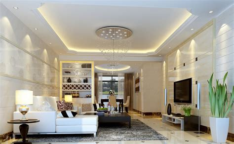 ceiling decorations for living room modern style living room ceiling decoration model