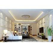 Modern Style Living Room Ceiling Decoration Model