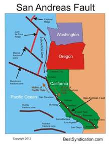 map of san andreas fault in southern california san andreas fault earthquake map www pixshark