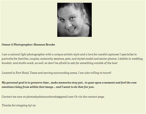 Photographer Description by Learn How To Write A Photography Bio Page Digital Bag Hq