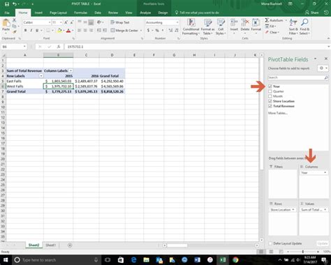 why we use pivot table in excel how to use excel pivot tables