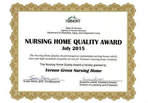 Vernon Green Nursing Home by What S New