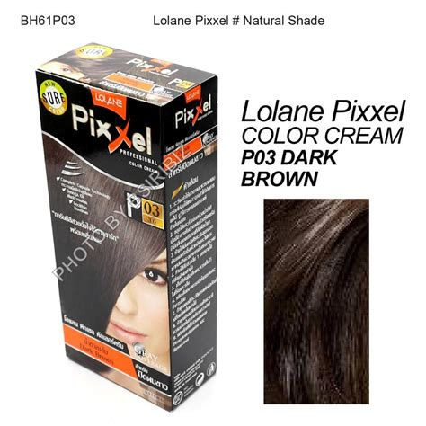 Lolane Pixxel P03 Brown lolane pixxel hair permanent dye color various