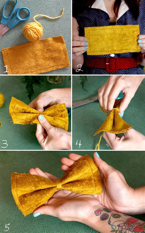Handmade Projects - 26 iteresting diy ideas how to make bows fashion design