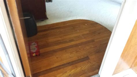 replacing a small section of carpet replace in a section and carpeting that had a stain that