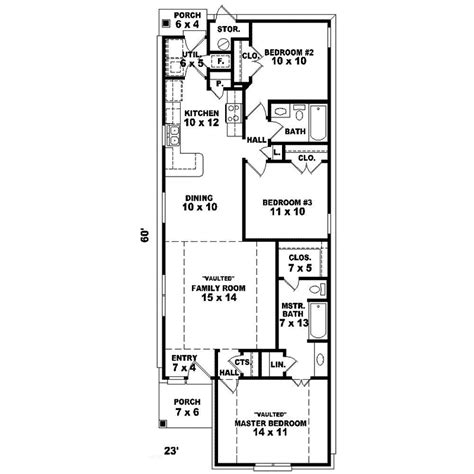 home plans and more rutger narrow lot ranch home plan 087d 0025 house plans