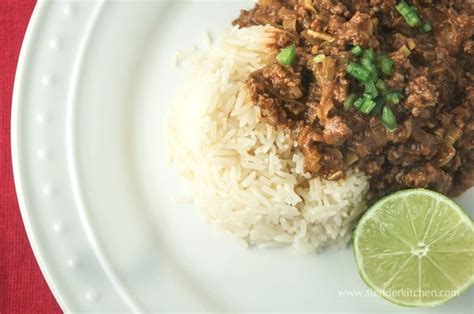 Thai Curry Kitchen by Sunday Cooker Thai Curry Ground Beef Recipe
