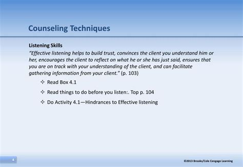 guidance counselor skills ppt the helping skills process and