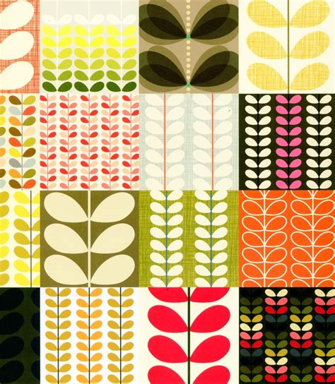 Bathroom Color Scheme Ideas Colors Classic Orla From The Orla Kiely Pattern Book Pattern