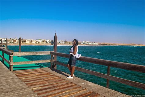Architecture Lessons namibia the blue hues of swakopmund beach its all bee