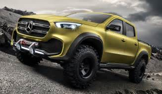 Mercedes Up Truck Mercedes Unveils A Jaw Dropping Truck
