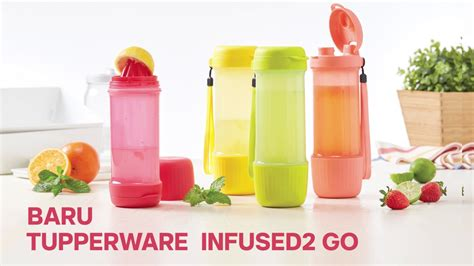 Botol Infused Water Tupperware infused2 go