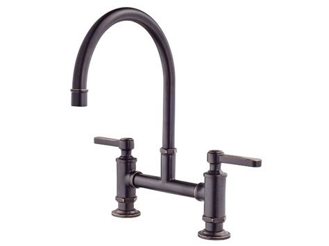 tuscany plumbing parts faucets manual kitchen sink with pfister port haven bridge kitchen faucet tuscan bronze