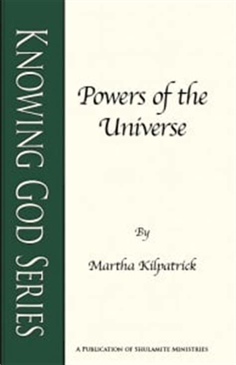 The Power Of Pre Knowing powers of the universe only one power us allmartha