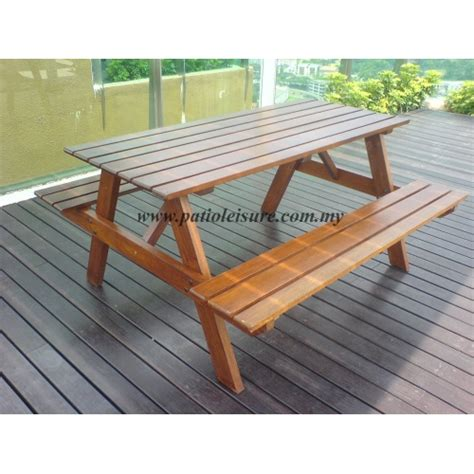 Picnic Table BBQ Table Patio Table Set Supplier Pool Side