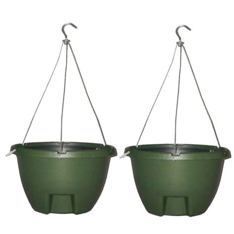 Home Depot Hanging Planters by Keter 13 8 In Dia Brown Resin Hanging Rattan Planter 2