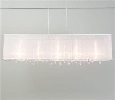 rectangular fabric chandelier rectangular organza shade chandelier modern