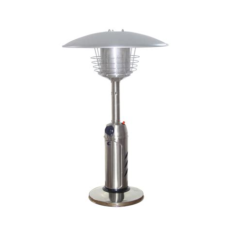Shop Garden Treasures 11 000 Btu Stainless Steel Liquid Patio Heaters