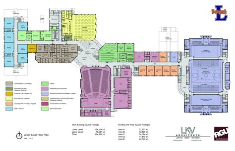 high school floor plans new high school lewiston independent school district no 1