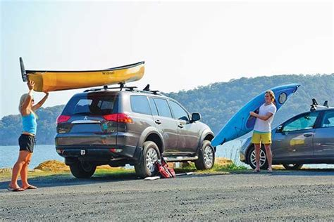 loading roof racks adding a paddle craft to your load trailering boatus